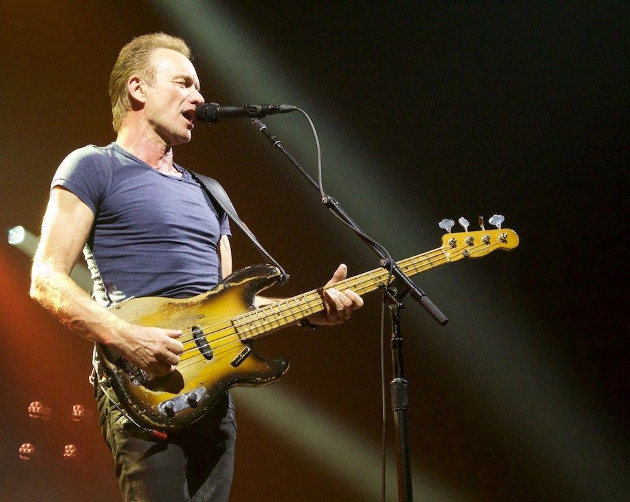 Sting: My 10 best songs